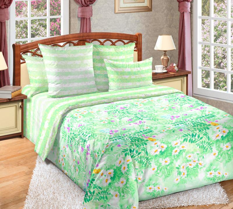 Постельное белье Июнь (перкаль) (1,5 спальный) постельное белье унисон россини 15375 1 15376 1 комплект 2 спальный перкаль 450154