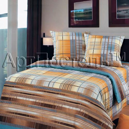 Постельное белье Айвенго коричневый (бязь) (2 спальный) постельное белье примавера постельное белье корнелия 2 спал