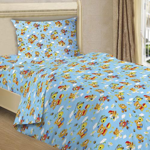 Постельное белье Медовый мишка (бязь) (1,5 спальный) постельное белье любимый мишка сатин 1 5 спальный