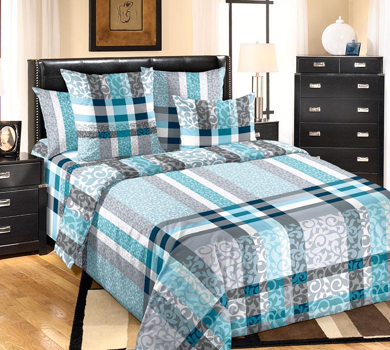 Постельное белье Бруно (перкаль) (2 спальный) постельное белье альба перкаль 2 спальный