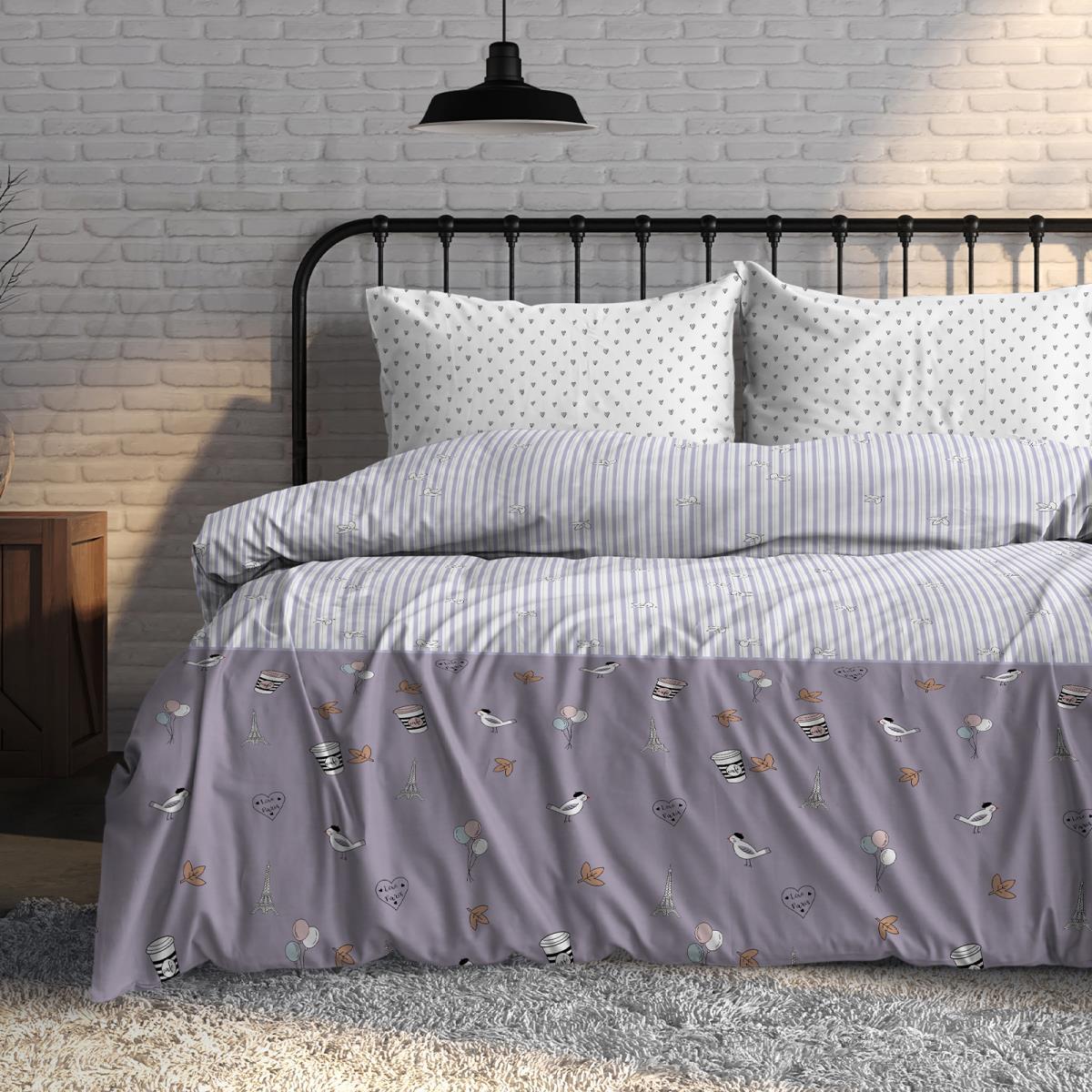 Фото - Постельное белье iv76079 (поплин) (1,5 спальный) постельное белье iv76089 поплин 1 5 спальный