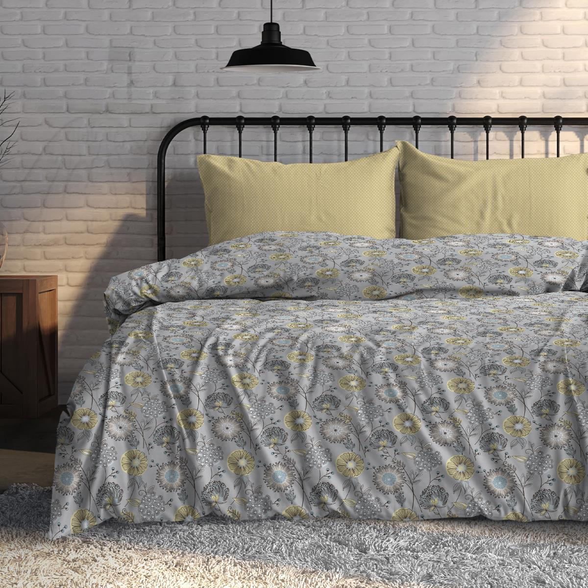 Фото - Постельное белье iv76080 (поплин) (1,5 спальный) постельное белье iv76089 поплин 1 5 спальный