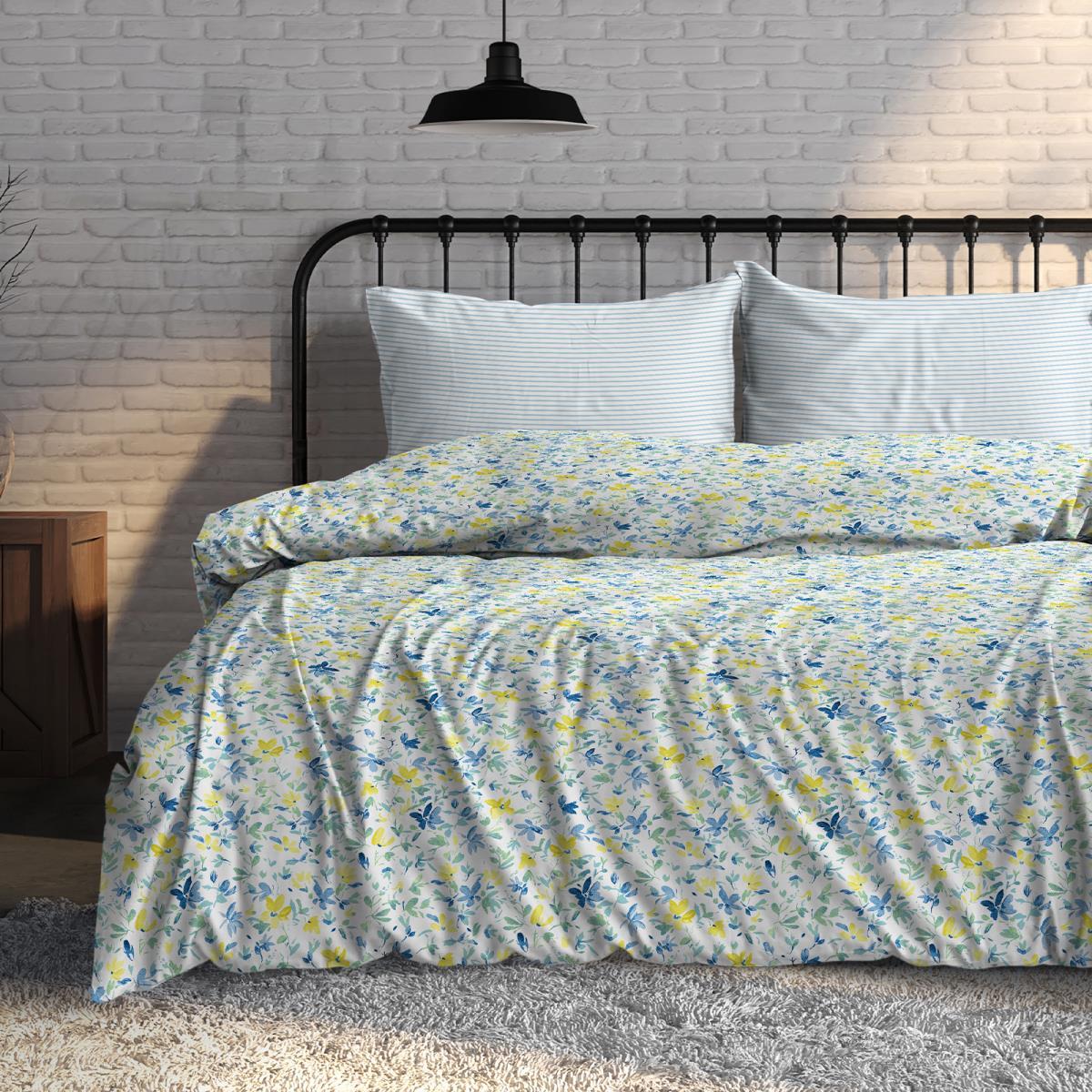 Фото - Постельное белье iv76081 (поплин) (1,5 спальный) постельное белье iv76089 поплин 1 5 спальный