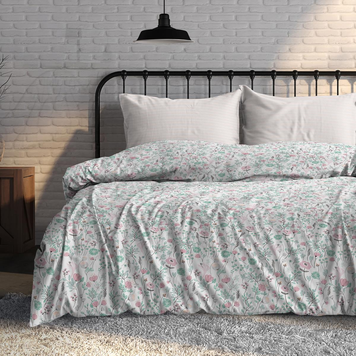 Фото - Постельное белье iv76089 (поплин) (1,5 спальный) постельное белье iv76089 поплин 1 5 спальный