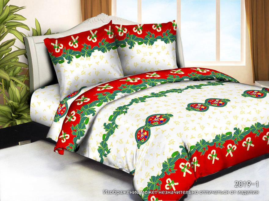 Постельное белье Праздник (полисатин) (1,5 спальный) постельное белье эго комплект 1 5 спальный полисатин