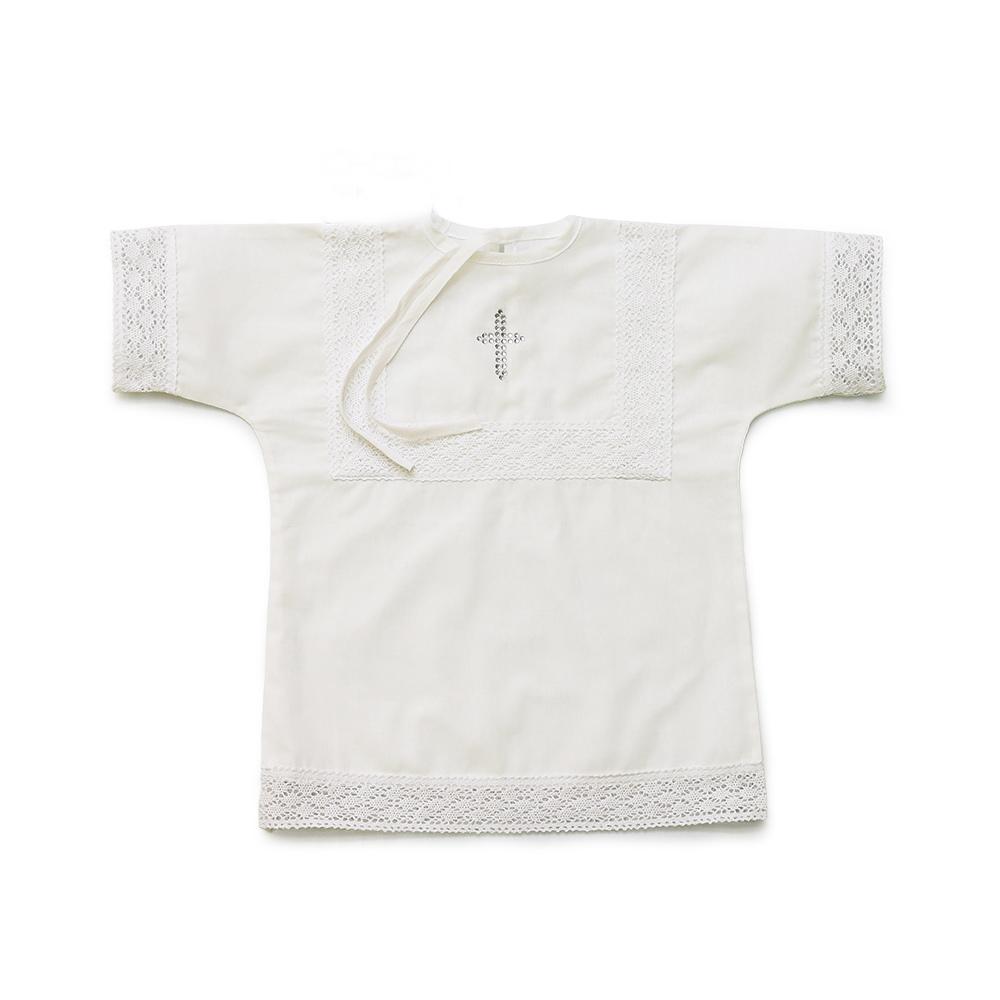 """Рубашка крестильная """"Снежок"""" от Грандсток"""