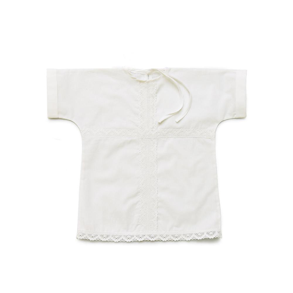 """Рубашка крестильная """"Облачко"""" от Грандсток"""