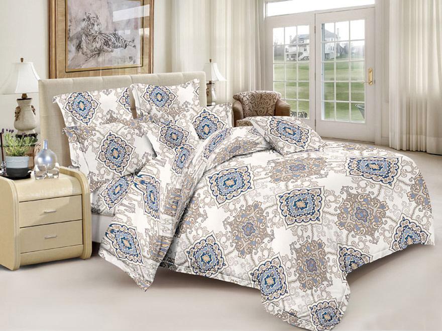 Постельное белье Графика (полисатин) (1,5 спальный) постельное белье эго комплект 1 5 спальный полисатин