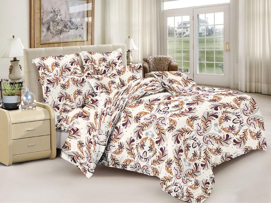 Постельное белье Доминик (полисатин) (1,5 спальный) постельное белье эго комплект 1 5 спальный полисатин