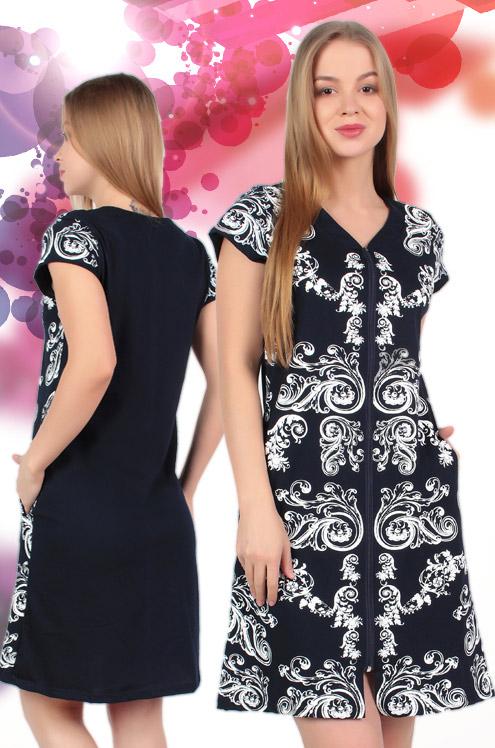 Халат женский #Афра# 50, Размер: 50 - Халаты - Легкие халаты
