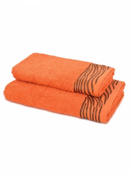 Полотенце махровое Дюна (терракотовое) (50х90) полотенца philippus полотенце laura 50х90 см 6 шт