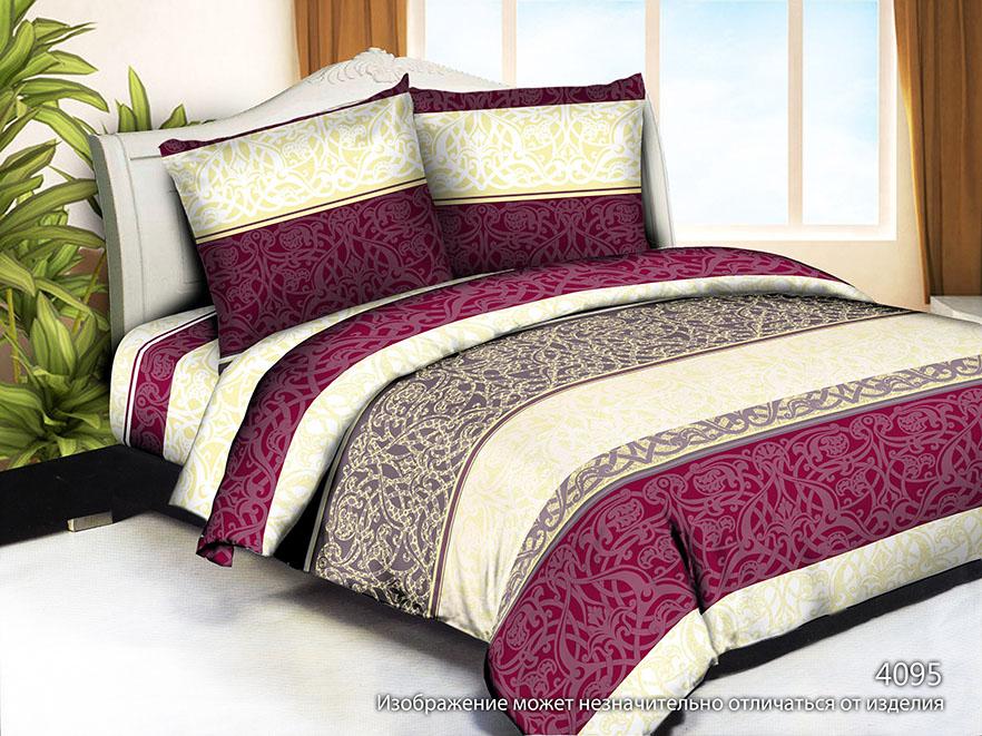 Постельное белье Ovonavi-1776 (полисатин) (1,5 спальный) постельное белье iv68146 полисатин 1 5 спальный