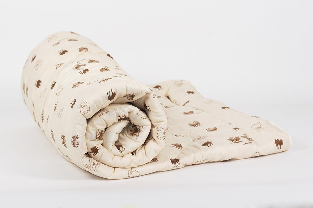 "Одеяло зимнее ""Тихий час"" (верблюжья шерсть, полиэстер) Евро-1 (200*220)"