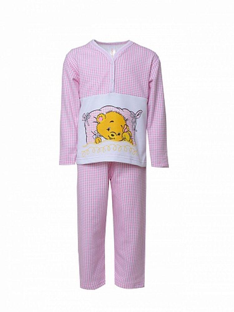 "Пижама ""Соня"" с шелкографией (футер) 34"