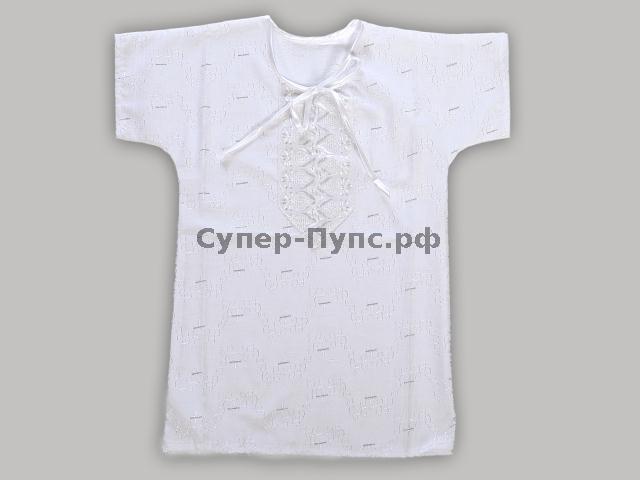 """Рубашка крестильная """"Слоненок"""" 28 от Грандсток"""