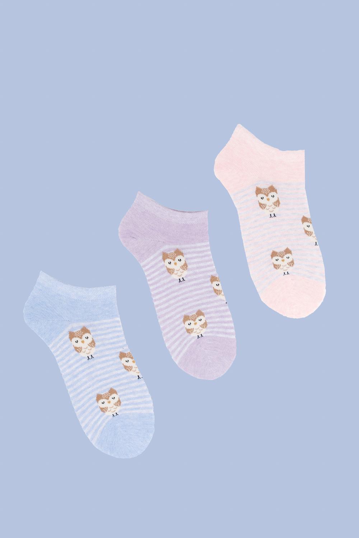Носки детские Букля  (упаковка 3 пары) (22-24) носки детские гранд цвет серый 2 пары tcl8 размер 22 24