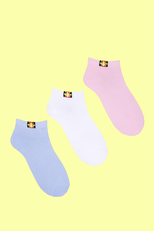 Носки детские Жук (упаковка 3 пары) (22-24) носки детские гранд цвет серый 2 пары tcl8 размер 22 24