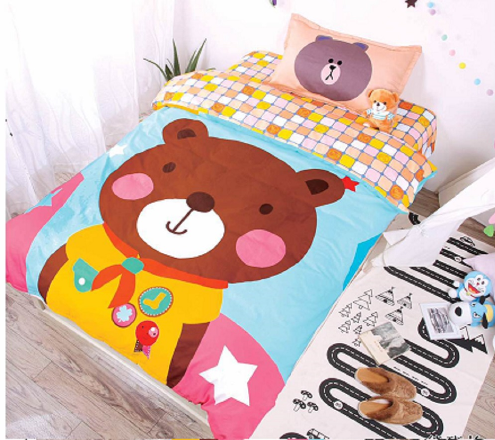 Постельное белье Вожак (сатин) (1,5 спальный) постельное белье игрушки розовый сатин 1 5 спальный