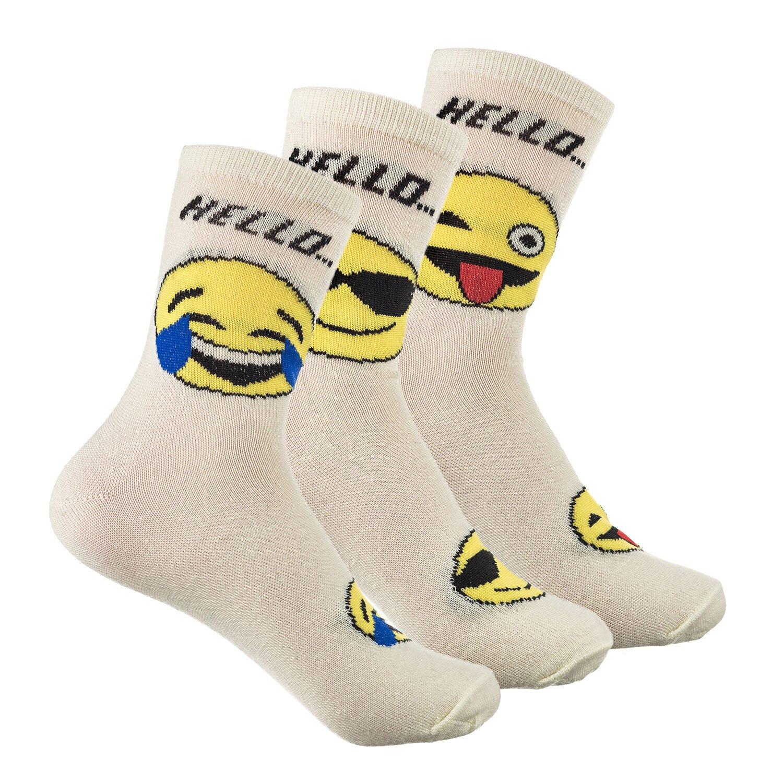 Носки женские Смайлик (упаковка 12 пар) (36-41) носки женские фитнес упаковка 6 пар 36 41