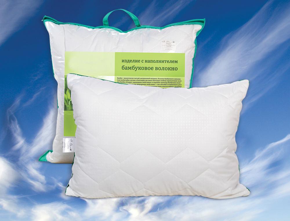 Подушка на молнии Пушинка (бамбук, микрофибра) (50*70) цена