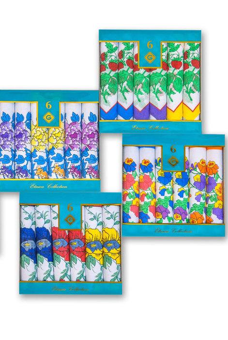 Платки женские iv63201 (упаковка 6 штук) 30х30