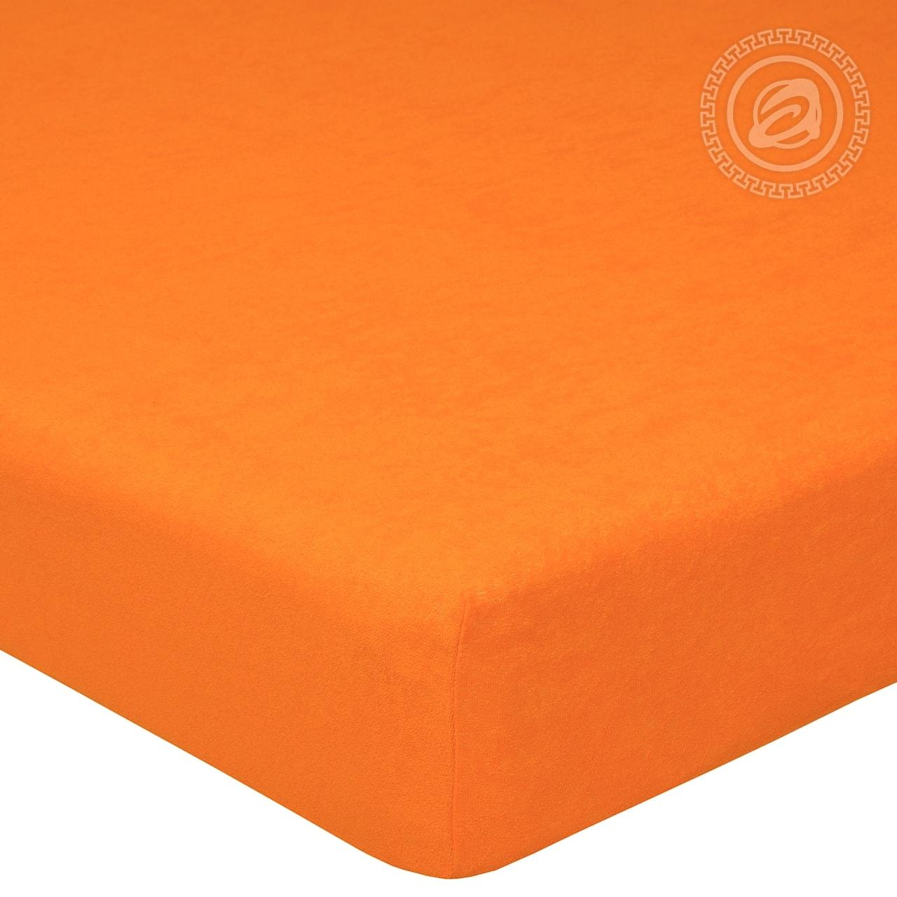 Простыня на резинке Апельсин (махра) (60х120) простыня на резинке ирис размер 60х120 см