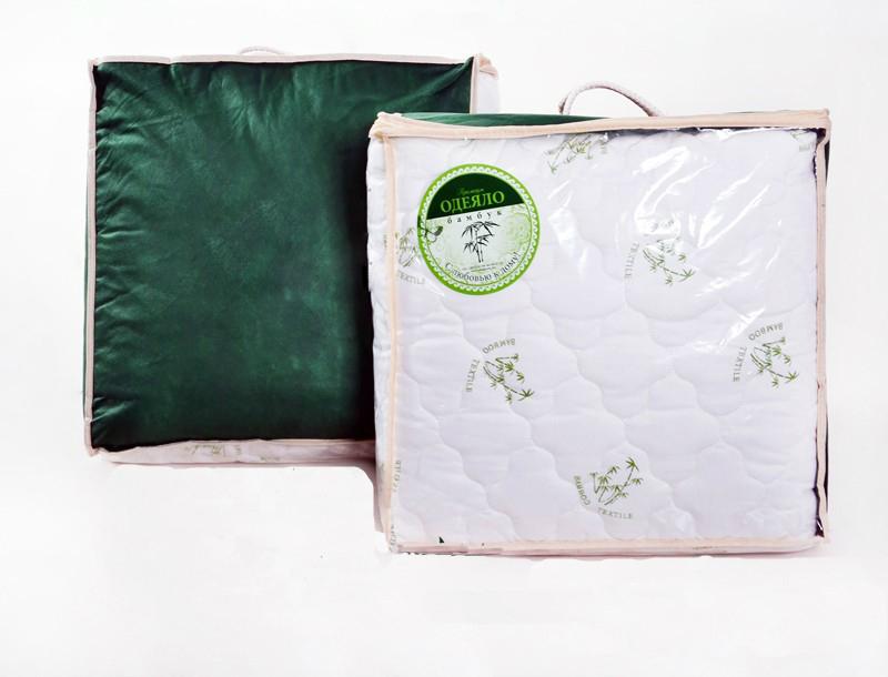 """цена Одеяло зимнее """"Елена"""" (бамбук, трикот) (1,5 спальный (140*205)) онлайн в 2017 году"""