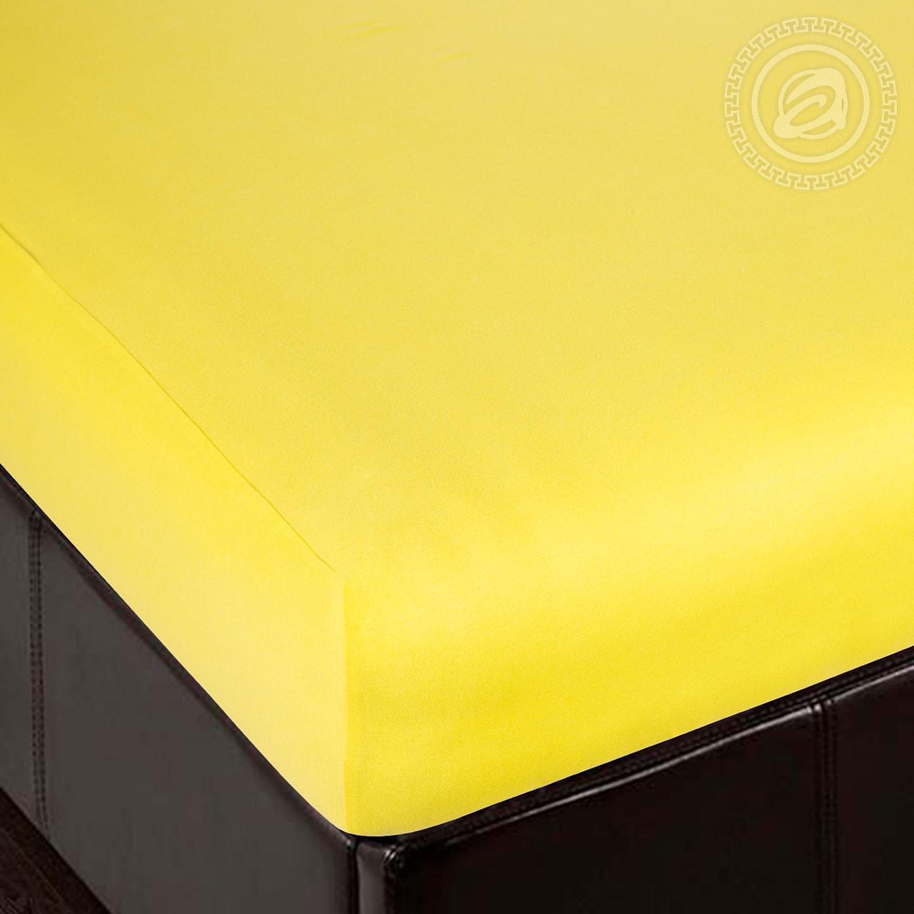 Простыня на резинке Лимон (трикотаж) (60х120) простыня на резинке ирис размер 60х120 см