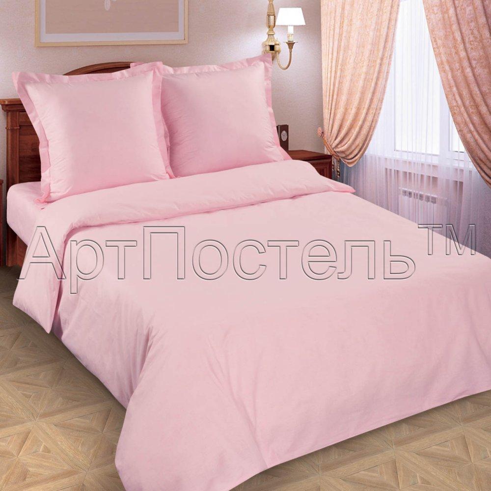 """Постельное белье """"Роза"""" (поплин) 1,5 спальный (простыня на резинке)"""