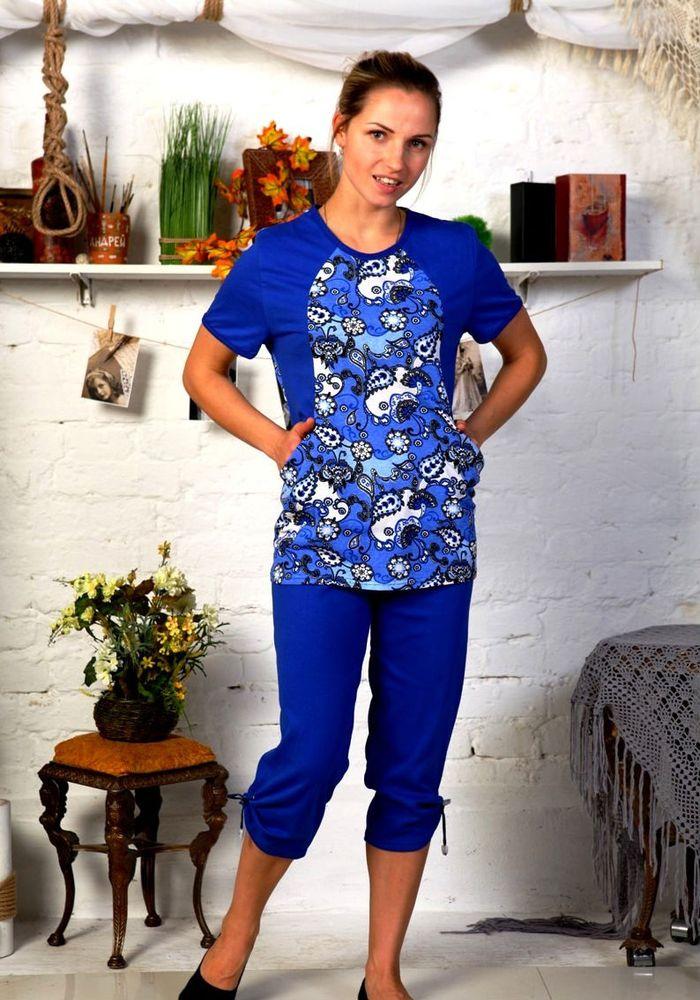 Костюм женский #Трейси# 54, Размер: 54 - Костюмы - Летние костюмы