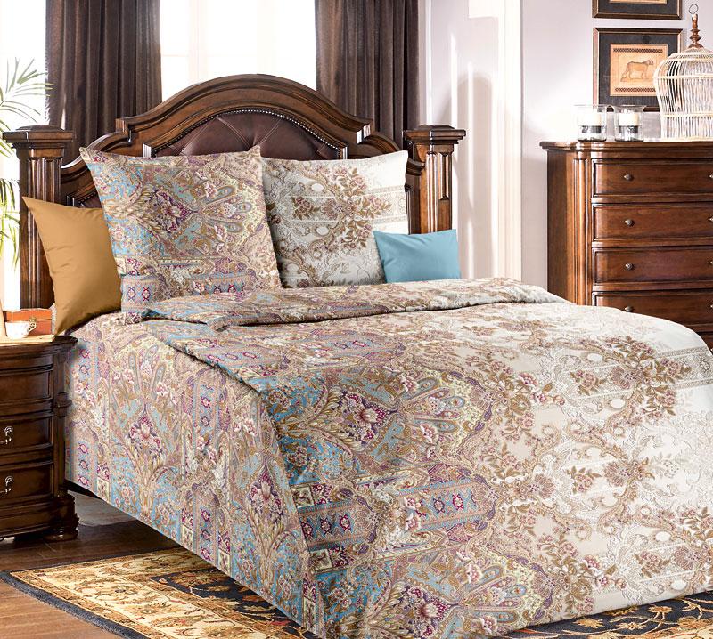 Постельное белье Совершенство бежевый (бязь) (1,5 спальный) постельное белье жаркое лето бязь 1 5 спальный
