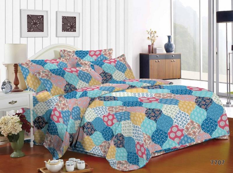 Постельное белье Осмунда (полисатин) (1,5 спальный) постельное белье эго комплект 1 5 спальный полисатин