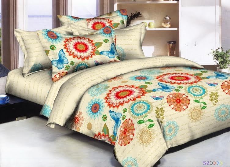 Постельное белье Нимфейник (полисатин) (1,5 спальный) постельное белье эго комплект 1 5 спальный полисатин