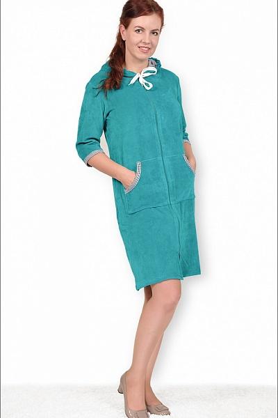 Халат женский #Дейлика#, Размер: 50 - Халаты - Теплые халаты