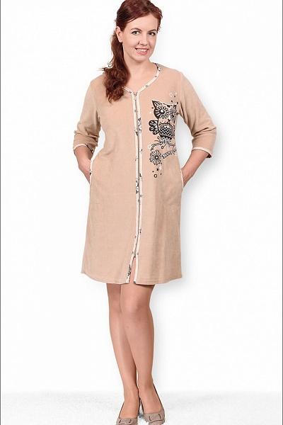 Халат женский #Совунья# 58, Размер: 58 - Халаты - Теплые халаты