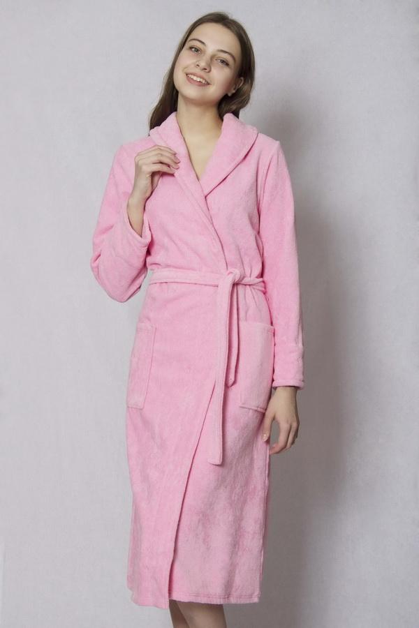 Халат женский велюровый #Элегия# 48, Размер: 48 - Халаты - Теплые халаты