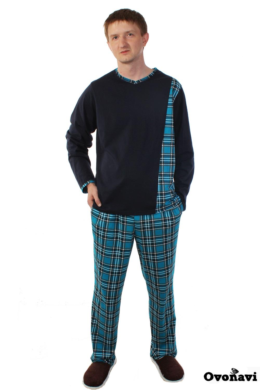 цена Пижама мужская Ovonavi-1375 онлайн в 2017 году