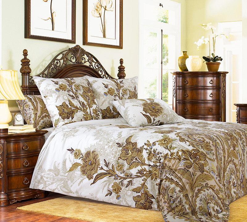 Постельное белье Музей белый (перкаль) (2 спальный с Евро простынёй) постельное белье альба перкаль 2 спальный