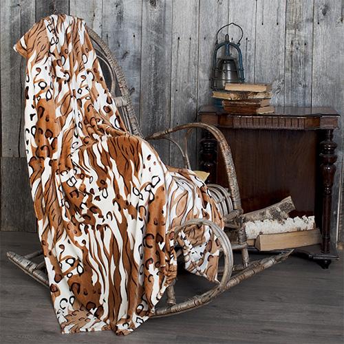 Плед Леопард (велсофт) (150х200) плед tamerlan пледkerrie 150х200 см