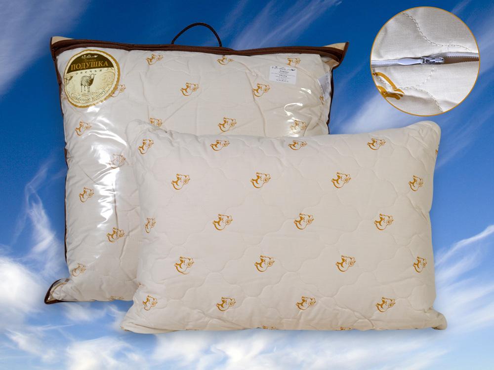 """Подушка двухкамерная """"Сновидение"""" (овечья шерсть, тик) (50*70) restline подушка cotton 50 70"""