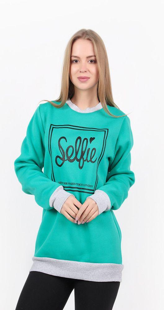"""Толстовка женская """"Selfie"""" 48"""
