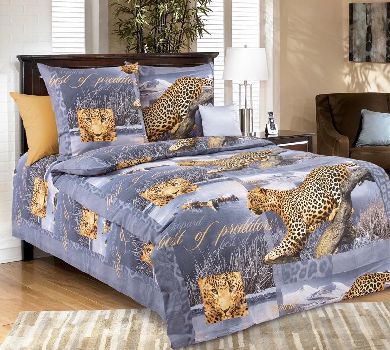 Постельное белье Бросок фиолетовый (бязь) (1,5 спальный) постельное белье жаркое лето бязь 1 5 спальный