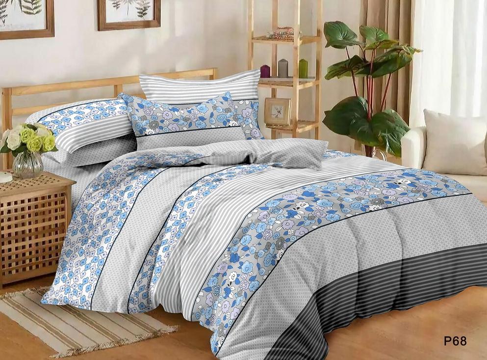 Постельное белье Дальняя дорога (поплин) (1,5 спальный)
