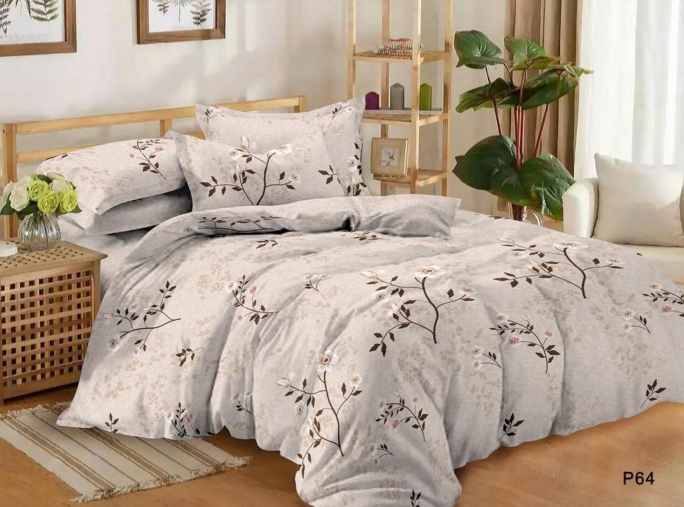 Постельное белье Цветущий сад (поплин) (1,5 спальный) постельное белье утренний сад поплин семейный