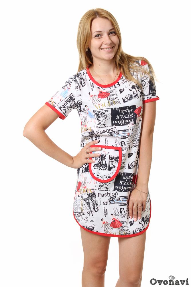 Туника женская #Маскарад# 70, Размер: 70 - Платья и юбки - Туники