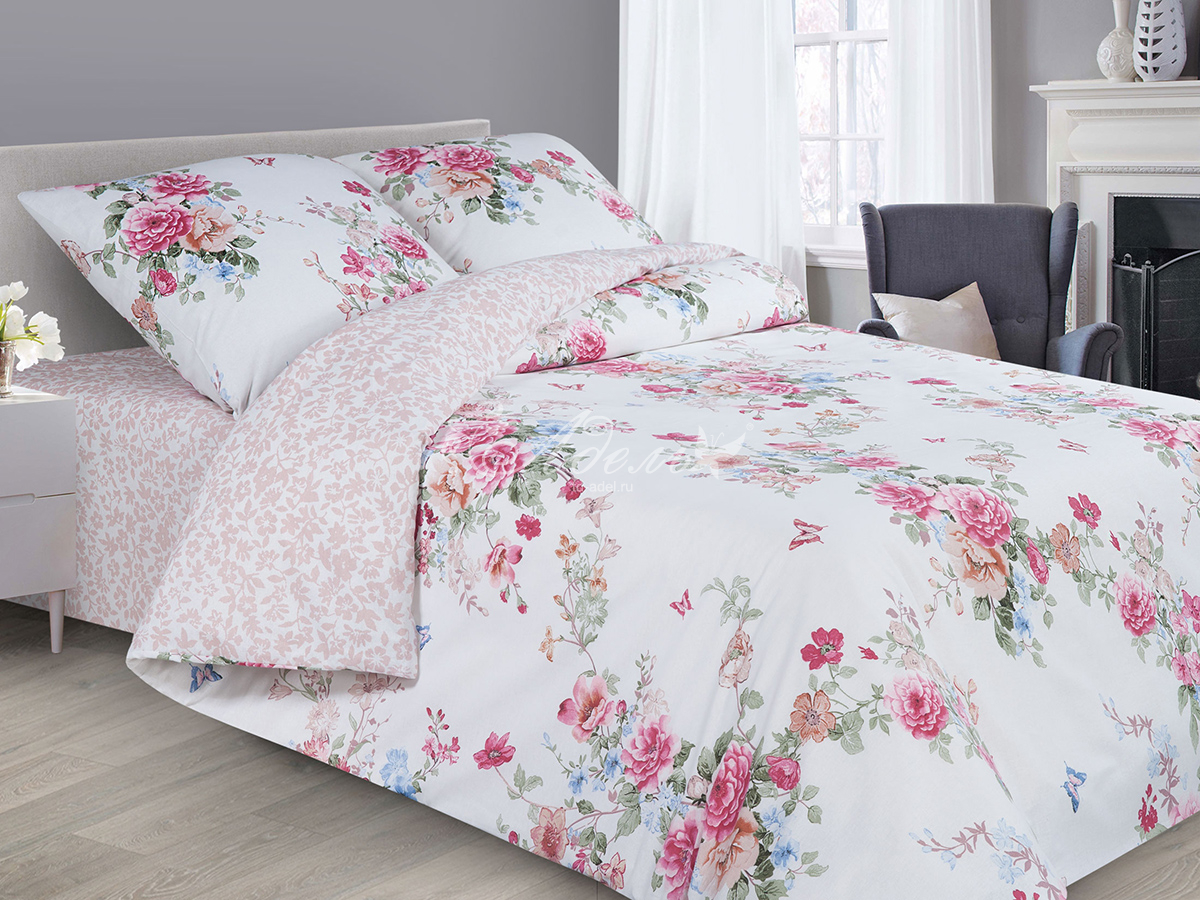 цена Постельное белье iv51286 (поплин) (1,5 спальный) онлайн в 2017 году