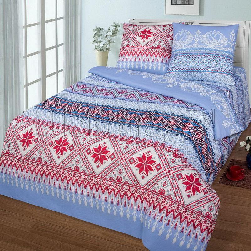 Постельное белье Орнамент (бязь) (1,5 спальный)