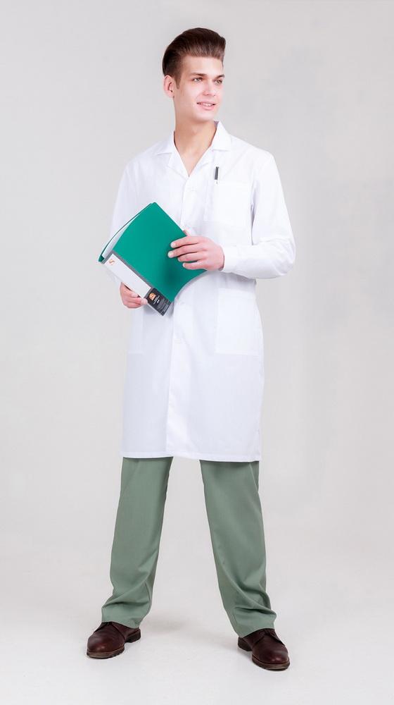 Халат медицинский #Руслан# 52-54, Размер: 52-54 - Спецодежда - Для врачей