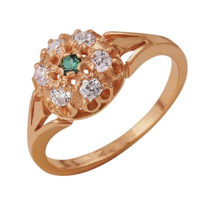 Кольцо серебряное iv8856