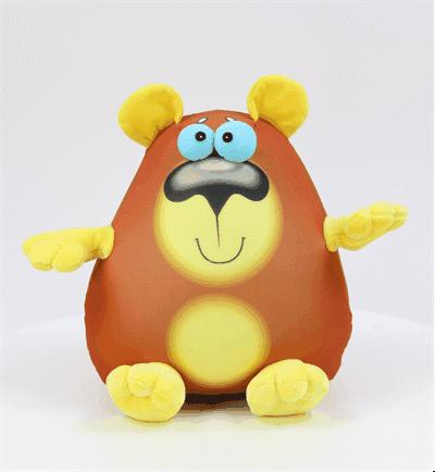 "Антистрессовая игрушка ""Крейзи Медведь"" 30х30"